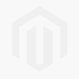 18K WHITE GOLD BLACK NEPHRITE JADE CIRCLE NECKLACE UPC #301993