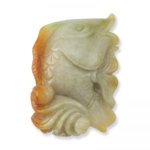 YELLOW JADEITE JADE STATUARY UPC #103009